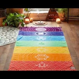 Other - Tapestry chakra for meditation only 1 left